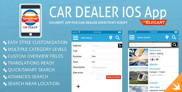 Car Dealer Classified iOS - CodeCanyon Item for Sale
