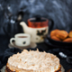 Fresh homemade delicious apple meringue cake - PhotoDune Item for Sale