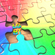 Colorful Jigsaw LGBT Puzzle - PhotoDune Item for Sale