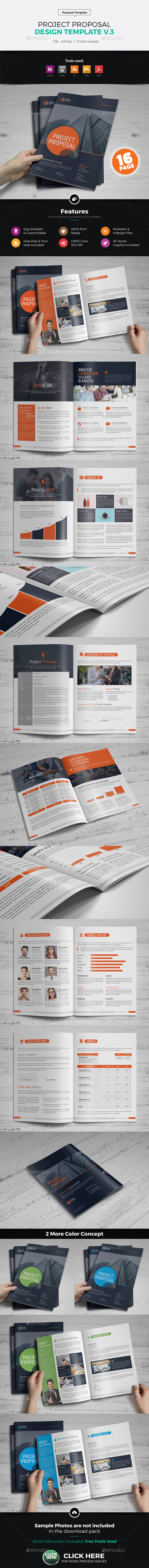 Project Business Proposal Design v3 - Proposals & Invoices Stationery