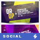 Electronic Music Party 02 - Facebook Event Cover Templates - GraphicRiver Item for Sale