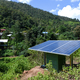 Small solar cell installations in mountain village. - PhotoDune Item for Sale