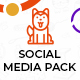 Pawrex: Pet Sitter, Groomer and Animal Shelter Social Media Pack - GraphicRiver Item for Sale