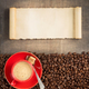 coffee concept on wooden background - PhotoDune Item for Sale