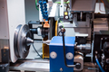 Metalworking CNC milling machine. Cutting metal modern processin - PhotoDune Item for Sale