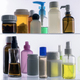 Different types of cosmetic containers and isolated medicines on a white background - PhotoDune Item for Sale