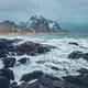 Rocky coast of fjord in Norway - PhotoDune Item for Sale