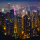 Hong Kong skyscrapers skyline cityscape view - PhotoDune Item for Sale