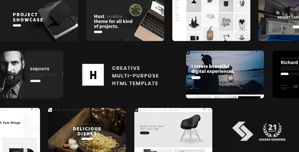 Heli - Creative Multi-Purpose HTML Template Free Download | Nulled