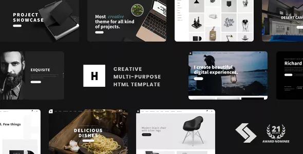 Heli - Creative Multi-Purpose HTML Template