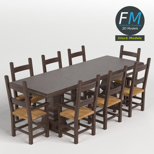 Table, Desk 2 - 3DOcean Item for Sale