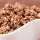 Oat flakes or granola with chocolate containing iron and fiber, healthy snack concept - PhotoDune Item for Sale