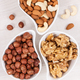Different nuts and almonds as source vitamins and minerals - PhotoDune Item for Sale