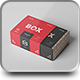 Carton Box Mockup 95x85x42 & Wrapper - GraphicRiver Item for Sale