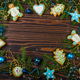 Christmas decorations and Christmas tree - PhotoDune Item for Sale