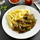 Beef stroganoff with mushrooms - PhotoDune Item for Sale