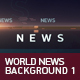 World News Background 1 - VideoHive Item for Sale