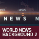 World News Background 2 - VideoHive Item for Sale