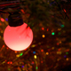 Closeup of red Christmas tree lamp - PhotoDune Item for Sale