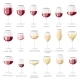 Wine Glass Vector Winery Alcohol Drink and Red - GraphicRiver Item for Sale