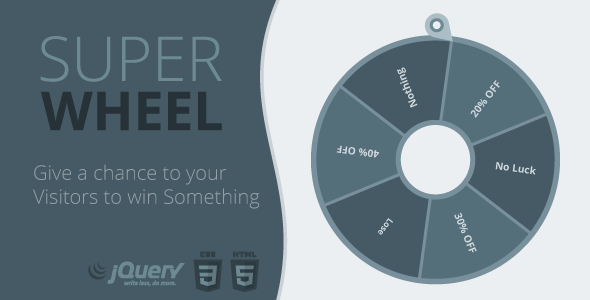 Super Wheel - Super Easy and Fully Controlled Wheel of Fortune - CodeCanyon Item for Sale