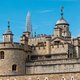 Detail of the Tower of London on a sunny day  - PhotoDune Item for Sale