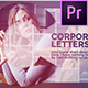 Corporate Letters - VideoHive Item for Sale