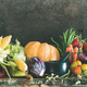 Assortment of various Autumn vegetables for healthy cooking, copy space - PhotoDune Item for Sale