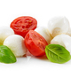 Mozzarella cheese balls with tomato and basil - PhotoDune Item for Sale