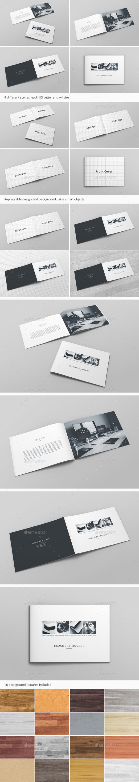 Brochure Catalog Mockup Vol. 2 - Brochures Print