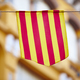 Traditional aragonese and catalonian flag. Spain. Horizontal - PhotoDune Item for Sale