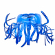 Plastic bottle recycled in a jellyfish figure. Reuse garbabe. Isolated - PhotoDune Item for Sale