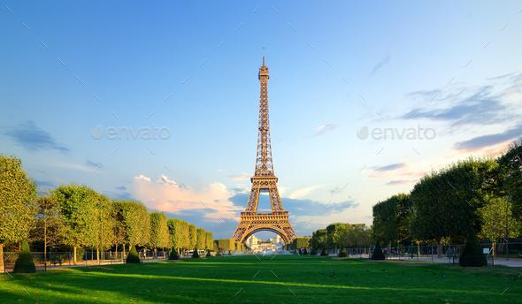 Champs de Mars - Stock Photo - Images