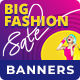 Big Fashion Sale - Shopping HTML5 Banners (GWD) - CodeCanyon Item for Sale