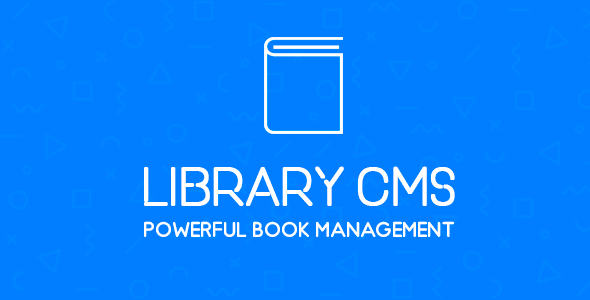 Library CMS - Powerful Book Management System - CodeCanyon Item for Sale