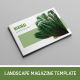 Minimal Magazine Template - GraphicRiver Item for Sale