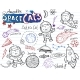 Space Cats - Doodles Collection - GraphicRiver Item for Sale