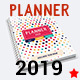 Daily Planner Agenda 2019 365 Days 1 Year - GraphicRiver Item for Sale
