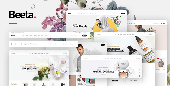 Beeta - Multipurpose eCommerce Bootstrap 4 Template Free Download | Nulled
