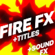 Fire Elements Titles And Transitions - VideoHive Item for Sale
