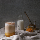 Glass of pumpkin spice latte - PhotoDune Item for Sale