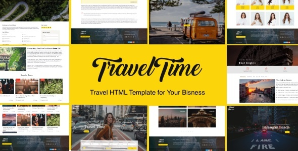 VoyageTime - Tour & Travel Agency HTML5 Template Free Download | Nulled