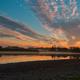 Fabulous sunrise over the lake in autumn - PhotoDune Item for Sale