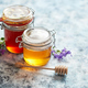 Jars with different kinds of fresh organic honey - PhotoDune Item for Sale