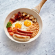 Traditional Full English Breakfast on frying pan. - PhotoDune Item for Sale