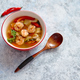 Traditional Tom Yum spicy Thai soup with shrimp - PhotoDune Item for Sale