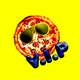 Contemporary art collage Pizza Vip. Fast food minimal project - PhotoDune Item for Sale