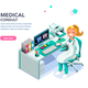 Medical Consult Web Page Template - GraphicRiver Item for Sale