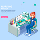 Nurse Agency Web Page Template - GraphicRiver Item for Sale