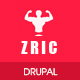 Zric - Fitness Multipages Drupal 8 Theme - ThemeForest Item for Sale